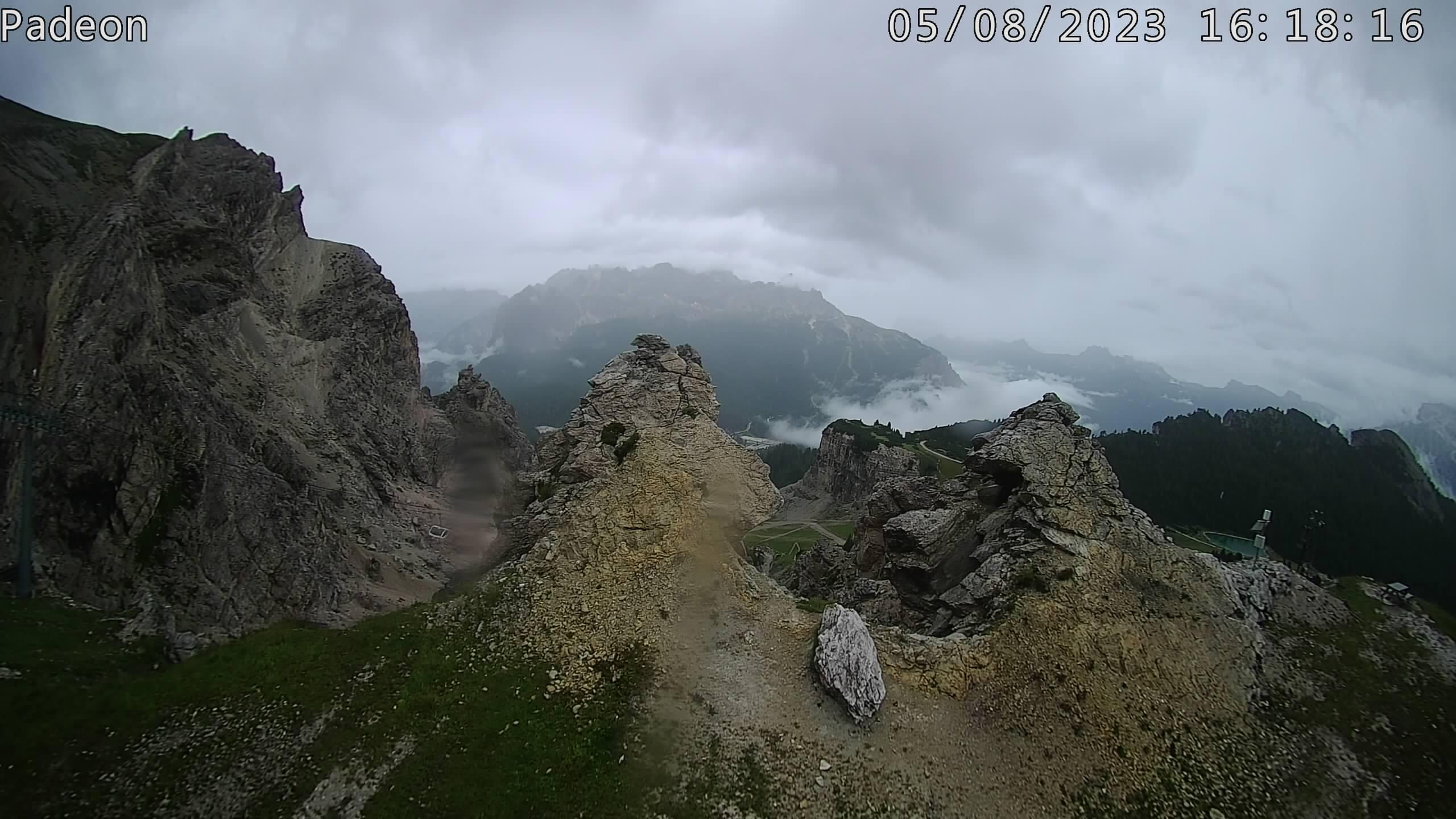 Faloria - vista Monte Pelmo