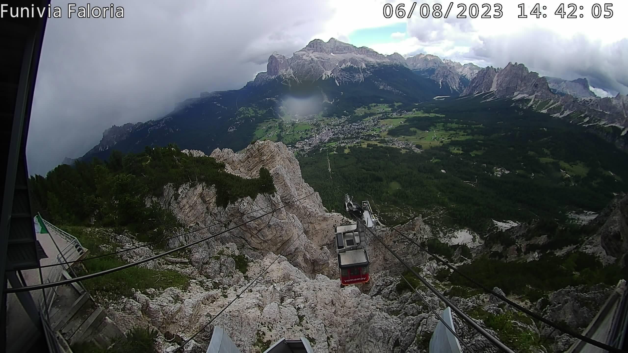 Cortina d'Ampezzo dal Faloria