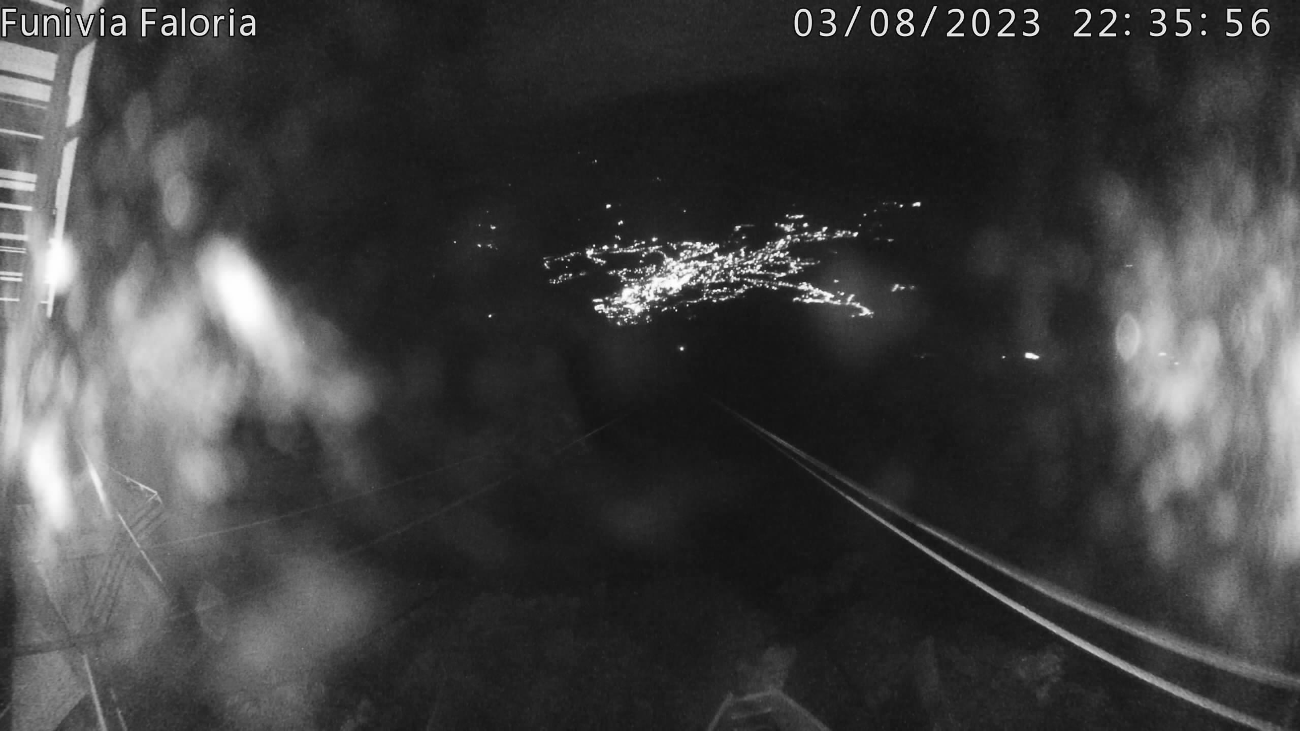 Dalla funivia Faloria, Panorama di Cortina