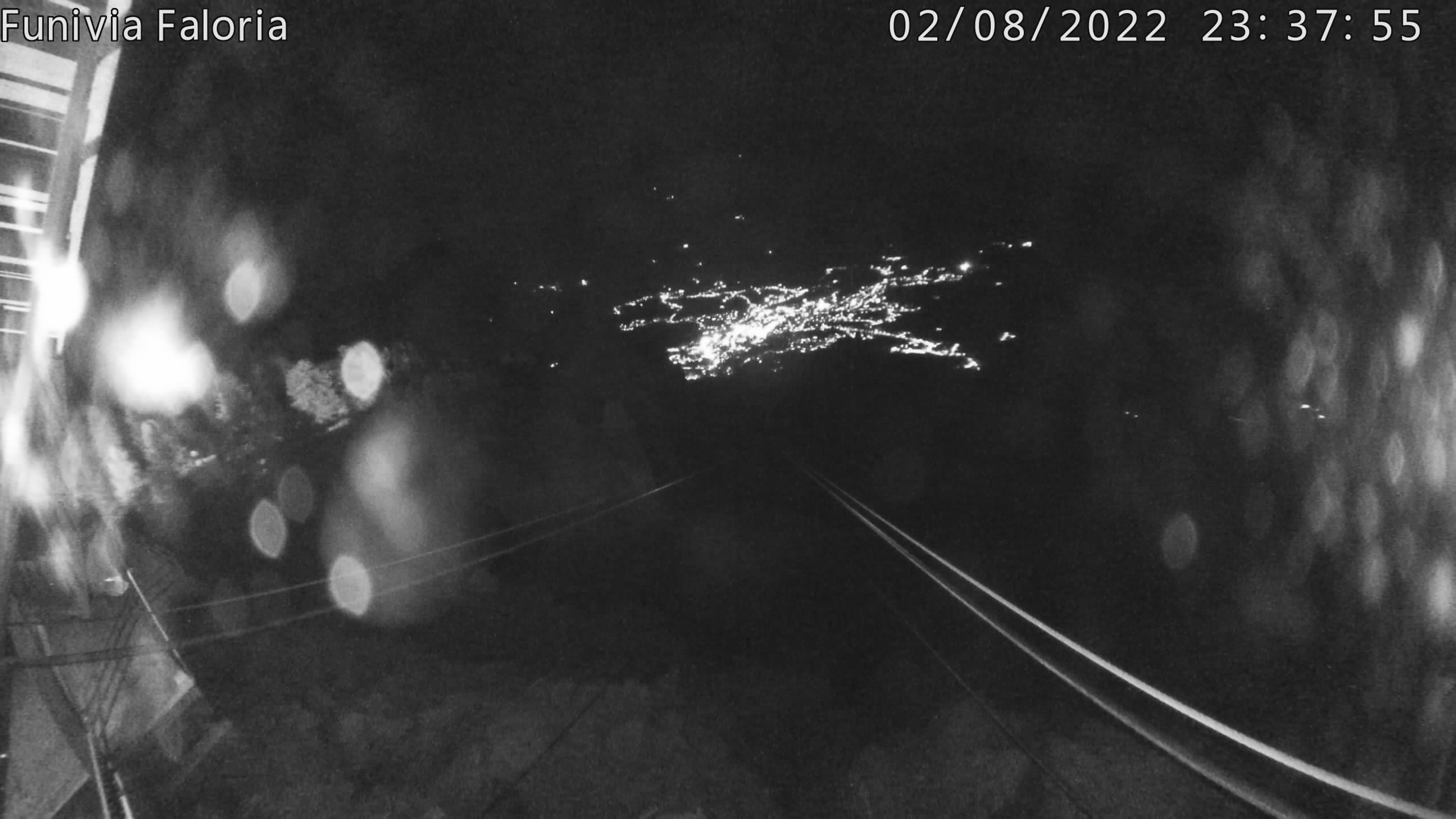 Webcam Rifugio Faloria, vista su Cortina